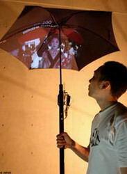 چتر هوشمند رنگارنگ