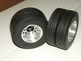 Twin tire