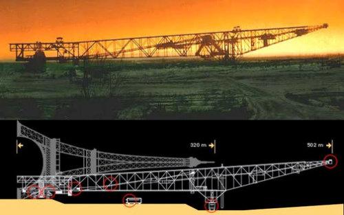 مقایسه پل و برج ایفل