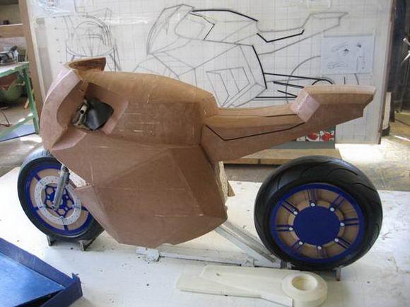 مدل سازی موتور سیکلت