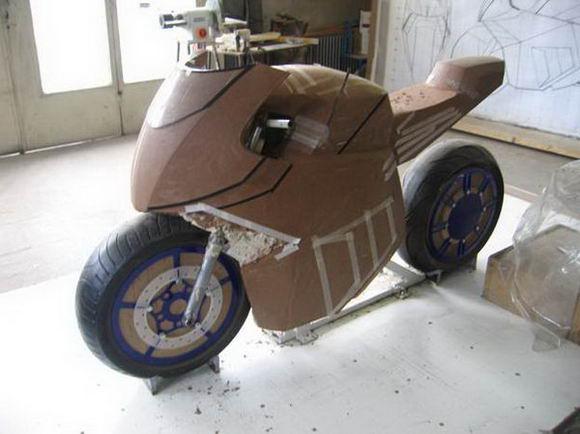 مدل سازی موتور سیکلت در دانشگاه تهران