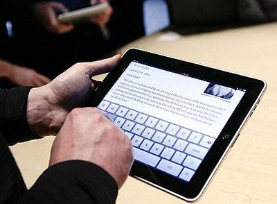 iPad استیو جابز