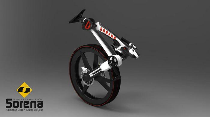 مسابقه طراحی دوچرخه - سورنا